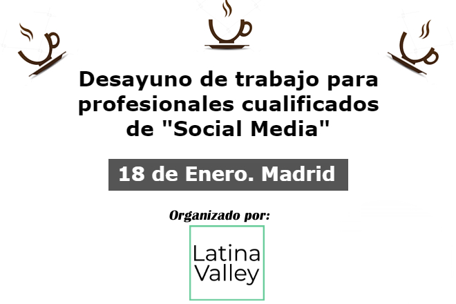 18 enero 2018 - Debate social Media Marketing