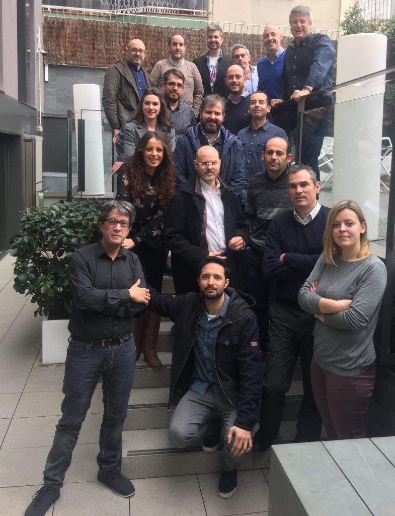 1 Febrero 2018. Debate Profesionales de la Comunicación y la Publicidad en Barcelona Foto Grupo Agencias Interactivas 1 Febrero 2018 Barcelona 785x1024