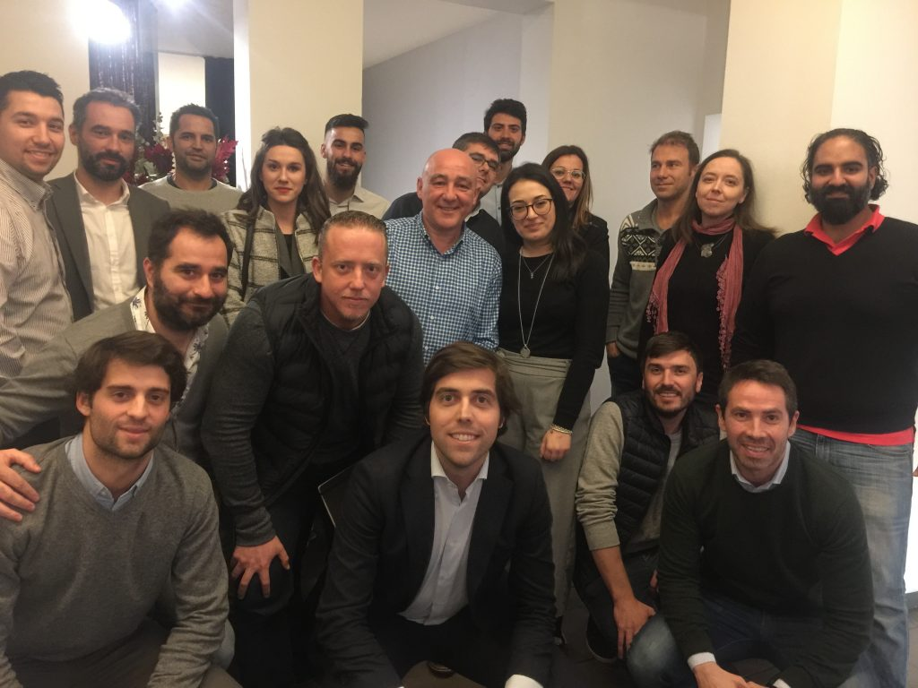 1 Febrero 2018 en Barcelona. Los retos de la venta online en España Foto de grupo Comercio Electro  nico 1 Febrero 2018 Barcelona 1024x768