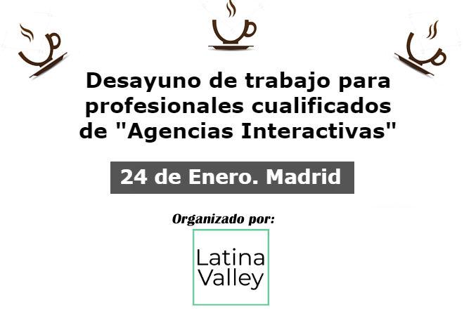 24 enero 2018. debate agencias interactivas en madrid 24 Enero 2018. Debate Agencias Interactivas en Madrid agencias madrid