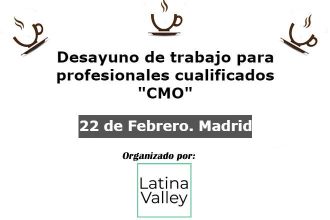 22 febrero 2018. debate cmos en madrid 22 Febrero 2018. Debate CMOs en Madrid cmo febrero