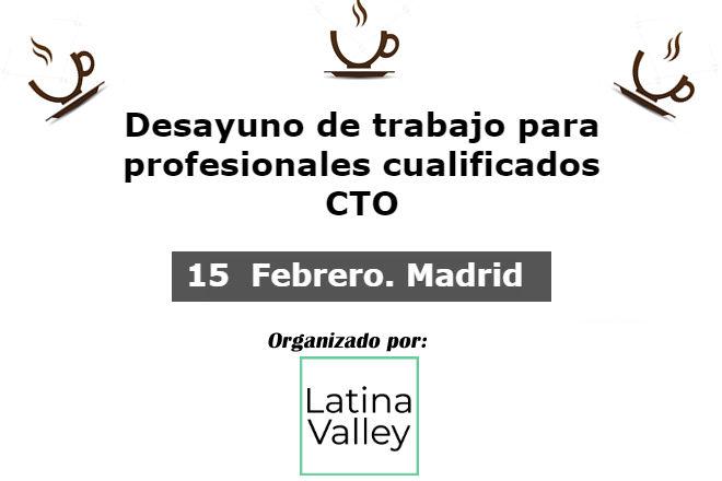 15 febrero 2018. debate cto en madrid 15 Febrero 2018. Debate CTO en Madrid cto 15febrero