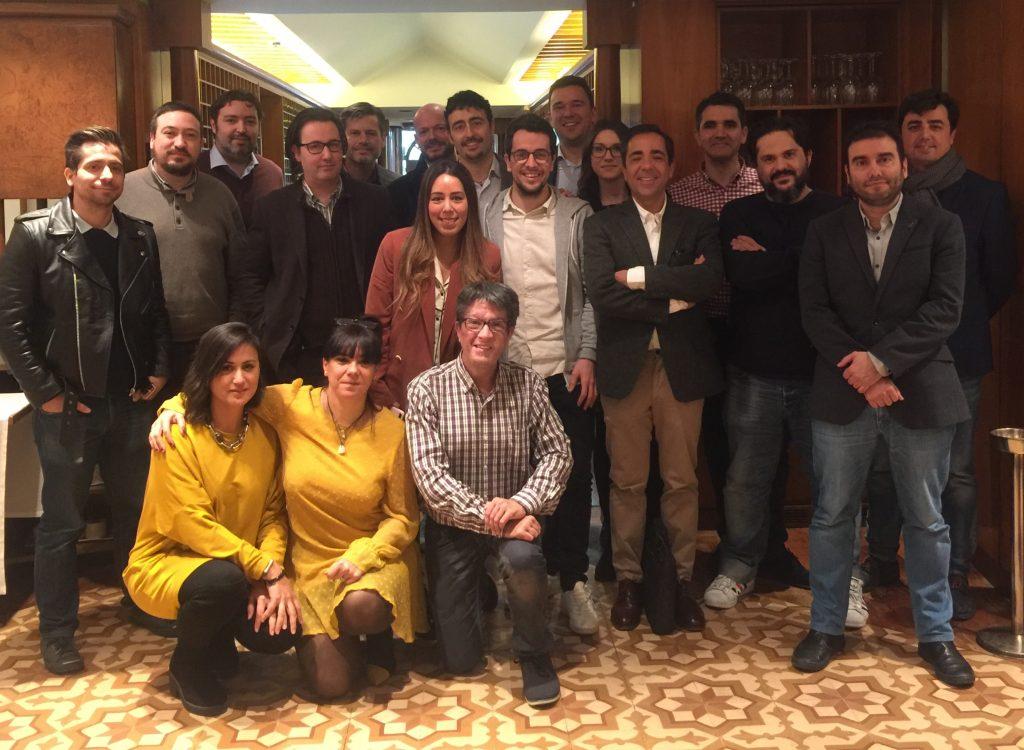24 enero 2018. debate agencias interactivas en madrid 24 Enero 2018. Debate Agencias Interactivas en Madrid foto grupo Agencias Interactivas 24 Enero 2018 1024x750