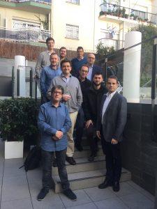 Foto de grupo del debate entre profesionales CEOs 7 de marzo 2018. debate ceo y fundadores en barcelona 7 de Marzo 2018. Debate CEO y Fundadores en Barcelona Foto 7 Marzo 2018 CEOs Barcelona e1520466948341 225x300