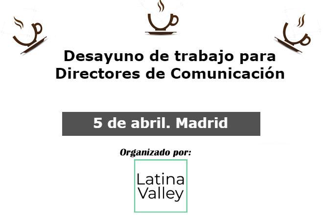 5 de abril 2018. Debate Directores de Comunicación en Madrid 1