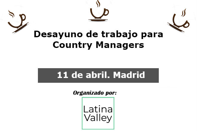 11 de abril 2018. debate country managers en madrid 11 de abril 2018. Debate Country Managers en Madrid 2