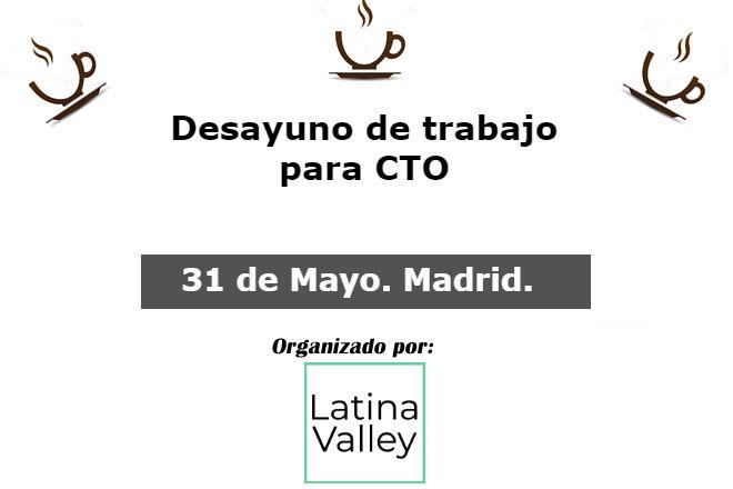 31 de Mayo 2018. Debate entre CTOs y CIOs en Madrid CTO