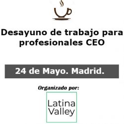 24 de mayo 2018. debate entre ceos y founders en madrid 24 de Mayo 2018. Debate entre CEOs y Founders en Madrid ceo 250x250