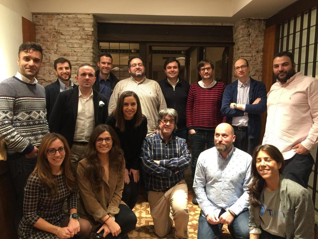 24 Enero 2019: Debate Comercio Electrónico Madrid Foto grupo debate eComm 24 Enero 2019 en Madrid 1024x768