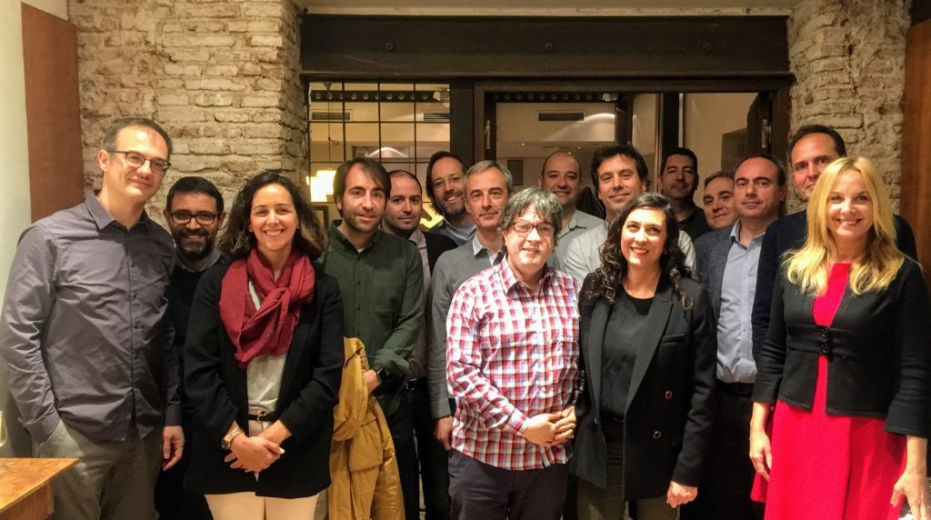25 Abril 2019: Debate entre Plataformas de Alto Tráfico (APPs, Webs y Foros) Foto de grupo Webs Alto Tra  fico Madrid 25 Abril 2019 1024x572