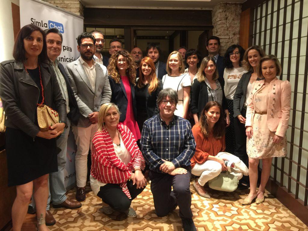 23 Mayo 2019: Debate  Directores de Comunicación Foto grupo Debate DirComs 23 Mayo 2019 Madrid 1024x768