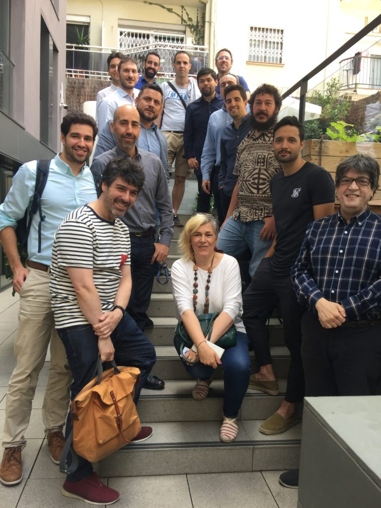 13 Junio 2019: Debate Plataformas de Alto Tráfico (APPs, Webs y Foros). Foto debate Webs Barcelona 13 Junio 2019 e1560422181626 768x1024