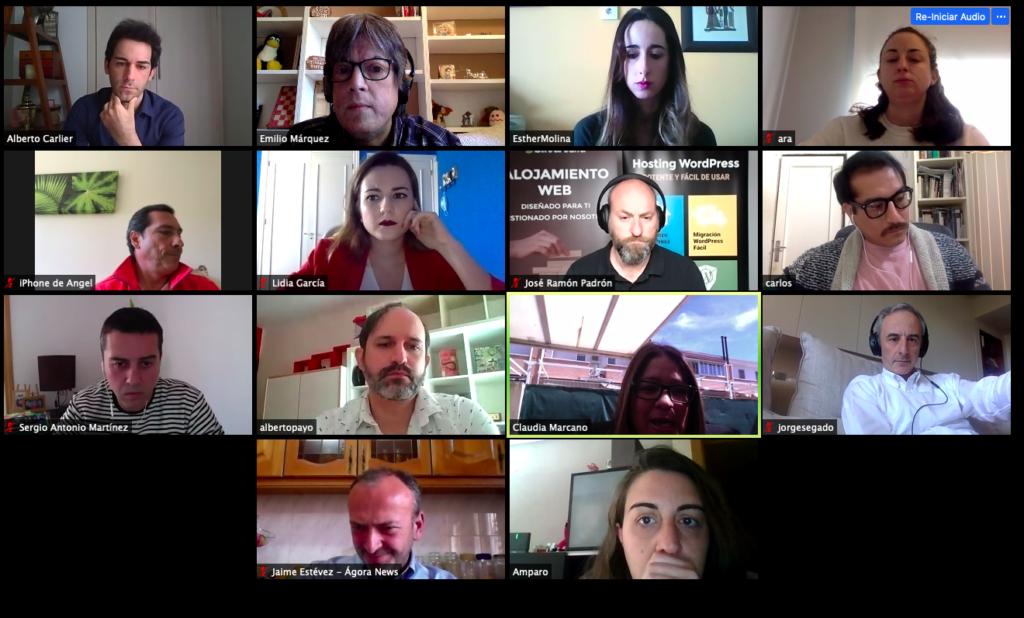 29 Abril 2020: 51º Debate Online «Medios de comunicación en tiempos de emergencia social» Captura de pantalla 2020 04 29 a las 12