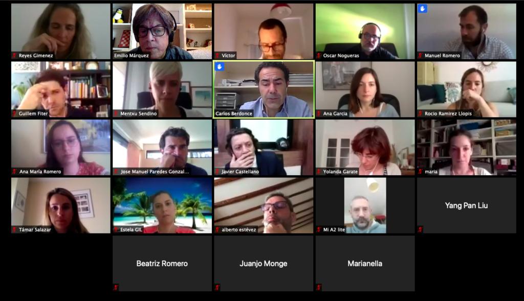 54º Debate online: Marketing y comunicación en un entorno internacional de crisis Captura de pantalla 2020 05 28 a las 17
