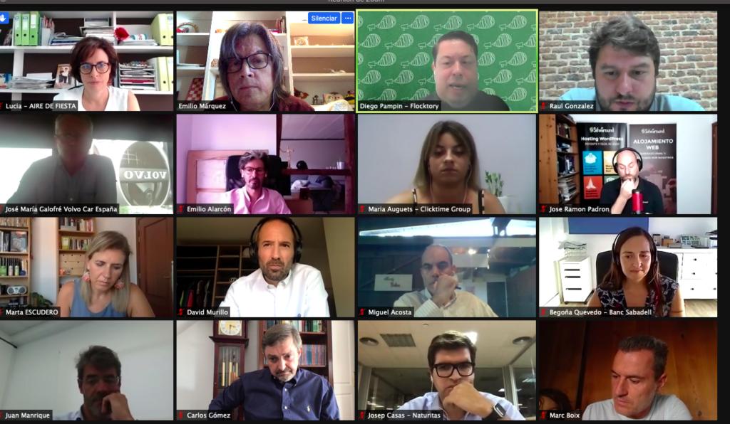 16 Septiembre 2020: 59º Debate online sobre Comercio Electrónico Captura de pantalla 2020 09 16 a las 17