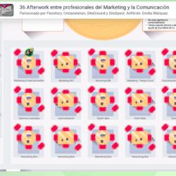 14 Octubre 2020: 36º Afterwork online entre profesionales del marketing y la comunicación Captura de pantalla 2020 10 07 a las 9