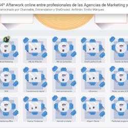 17 Marzo 2021: 44º Afterwork online entre profesionales de las Agencias de Marketing y PR Configuracio  n sala virtual 17 Marzo 2021 Previa al evento del Afterwork de Agencias 250x250