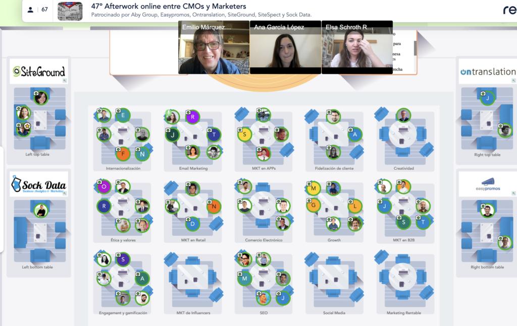 19 mayo 2021: 47º Afterwork online entre CMOs y Marketers Captura de pantalla 2021 05 19 a las 18