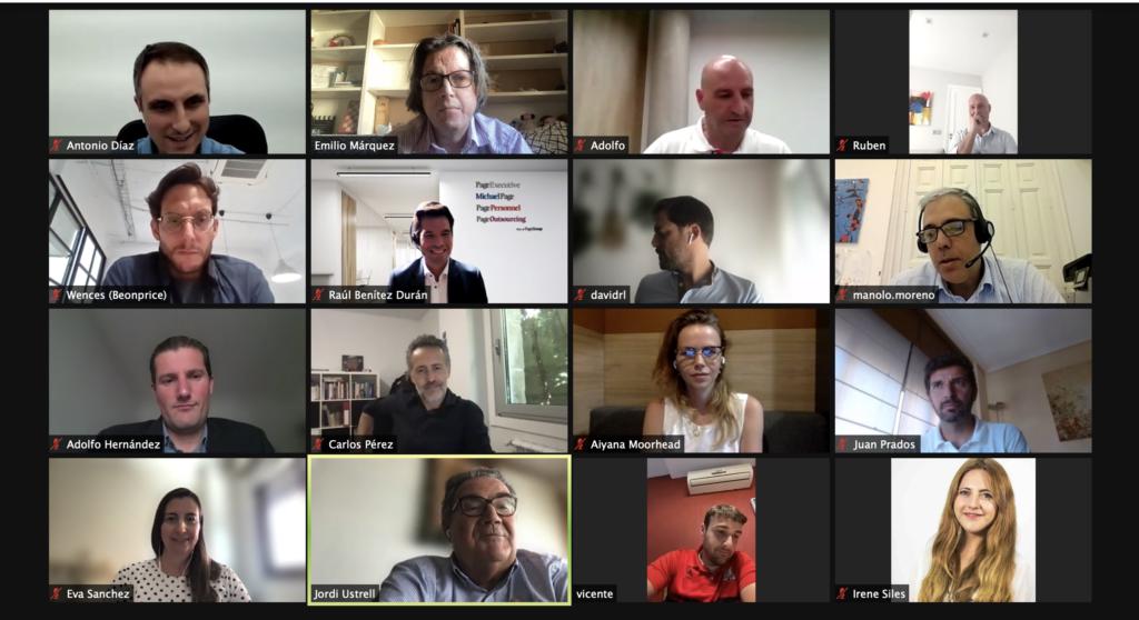 9 junio 2021: 65º Debate online entre Directores Financieros (CFOs) Captura de pantalla 2021 06 09 a las 17